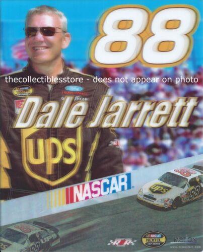 DALE JARRETT UPS ROBERT YATES FORD RACING NASCAR NEXTEL CUP 8 X 10 MOTION PHOTO