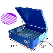 21 X 25 Led Uv Exposure Unit Screen Printing Machine Press For Shirt 110v