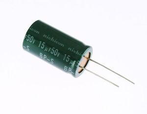 25x 15uf 50v radial electrolytic capacitor dc 85c non polar bi polar image is loading 25x 15uf 50v radial electrolytic capacitor dc 85c sciox Image collections