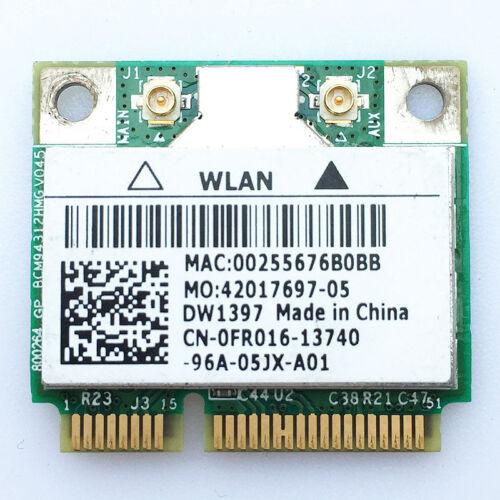 Dell DW1397 Broadcom BCM94312HMG FR016 KW770 BRCM1030 WIFi Wireless WLAN Card