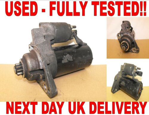1.4 1.9 TDI 2001-16 FULLY TESTED AND WORKING STARTER MOTOR 9N VW POLO