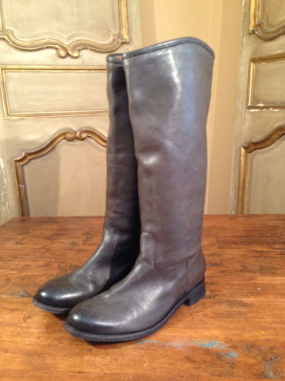Vintage Dolce Vita Womens Tall Campus Riding Fashion 7 Boots In Grey Size 7 Fashion Enjoy! d90fd4