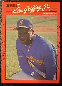 1990 Donruss Ken Griffey Jr EXTRA RARE #365 ERROR CARD. No Period After Inc
