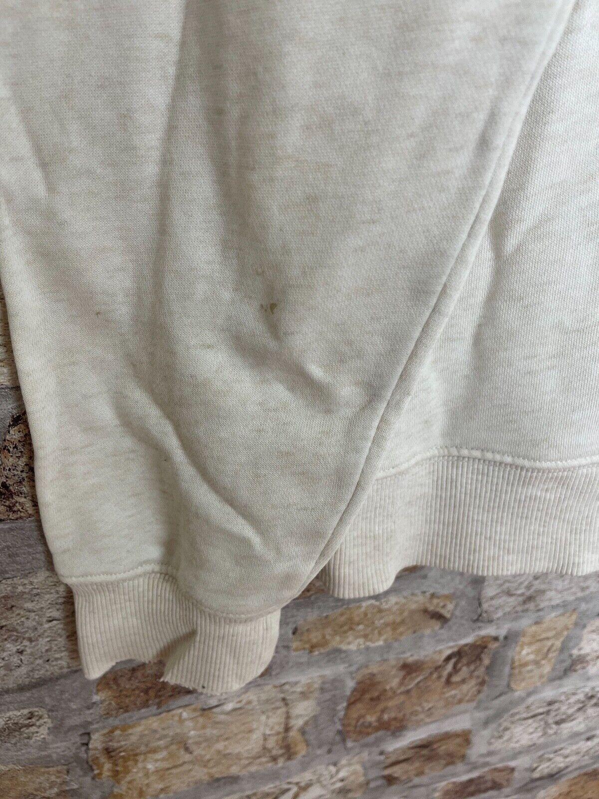 Vintage retro 90's USA Dickies speckle sweatshirt hoodie men's medium logo #40