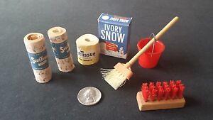 ScotTissue Toilet Paper Roll, Scottowels (2), Ivory Snow Box, + misc.