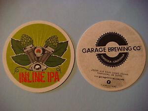 Bière Dessous De Verre ~^^~ Garage Brewing En Ligne Ipa ~ Temecula, California~ Wdybufj0-07233443-178250614