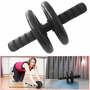 ABS-ABDOMINAL-EXERCISE-WHEEL-FITNESS-GYM-BODY-STRENGTH-TRAINING-ROLLER-MACHINE