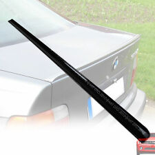"""""""SHIP FROM LA BMW E36 COUPE M3 REAR TRUNK LIP SPOILER PAINTED BLACK 668 §"""
