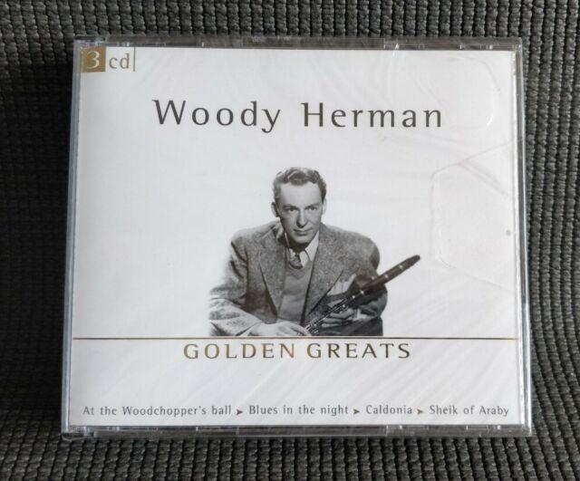 WOODY HERMAN: Golden Greats [3 CD Set] 2002 NEW & SEALED