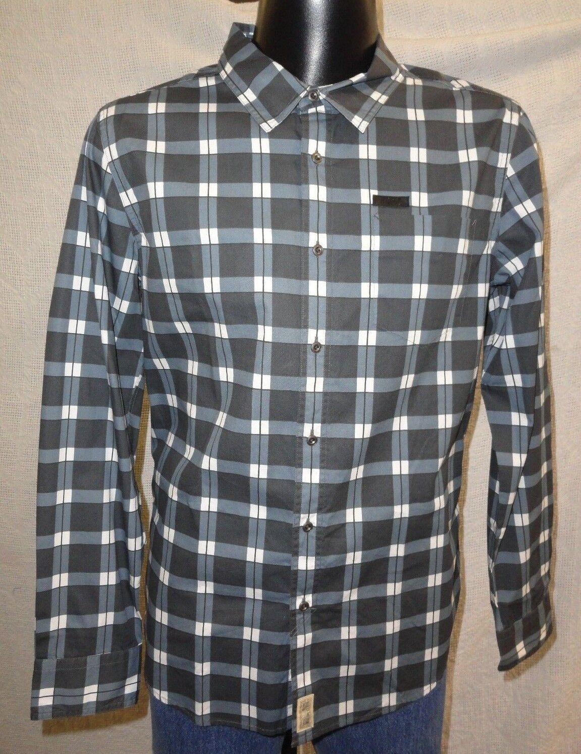 Harley Davidson Men's Printed Plaid Shirt