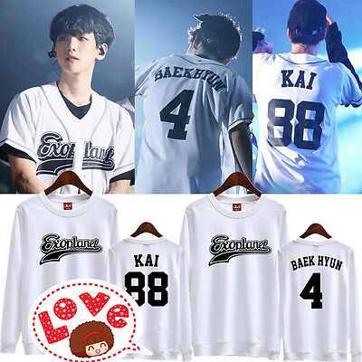 EXO FROM PLANET#3 exoplanet longsleeve sweater sweatshirt chanyeol baekhyun kpop