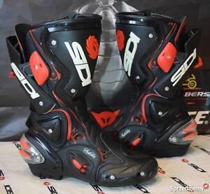 SIDI-Vertigo-LEI-LADY-black-RED-MOTORCYCLE-MOTORBIKE-BOOTS-UK-4-EUR-37-F15
