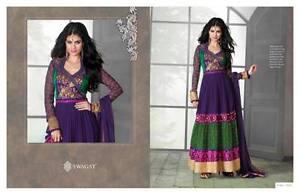 Pakistani Suit Shalwar Designer Dress Bollywood Latest Anarkali Indian Kameez pqwSRn