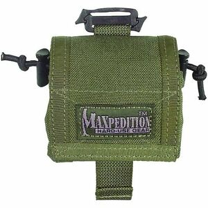 Maxpedition-0208G-Rollypoly-dump-pouch-GREEN