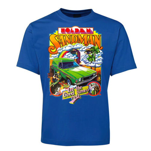 New Black Holden Sandman 70s T Shirt Size S 7XL 5XL