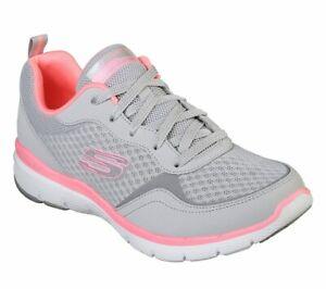 Details about SKECHERS 13069/LGHP FLEX APPEAL 3.0 GO FORWARD scarpe donna  sportive memory foam