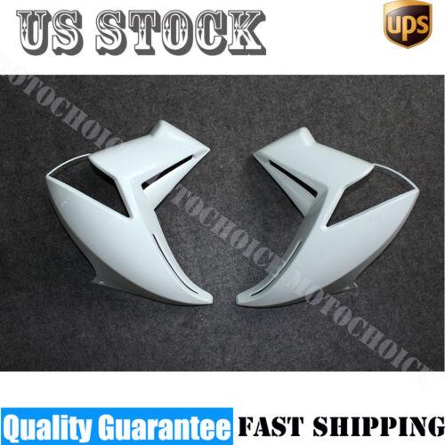 Unpainted White ABS Fairing Kit Bodywork For Kawasaki ER-6N ER6N 2009-2011 2010
