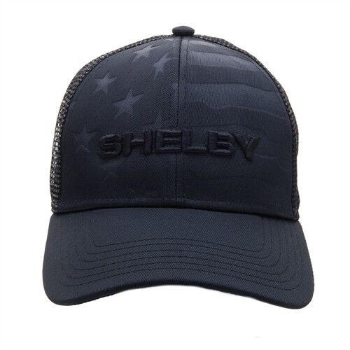 Shelby Cobra Weathered Baseball Cap Dark Brown