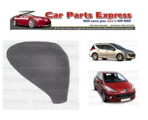PEUGEOT 207 2006-2012 MODELS NEW PAINTED WING MIRROR COVER O//S RIGHT  ANY COLOUR