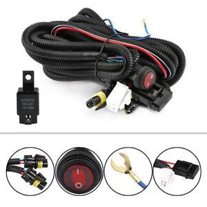 12v 40a led work fog light bar wiring harness relay kit on. Black Bedroom Furniture Sets. Home Design Ideas