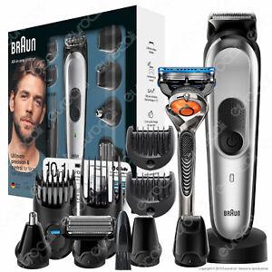 Rasoio-Elettrico-Uomo-Braun-MGK7020-Barba-e-Capelli-10in1-Gillette-Fusion