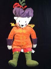 "Ikea Ridderlig Renaissance Costume Kitty Cat Plush Soft Toy 18"" Stuffed"