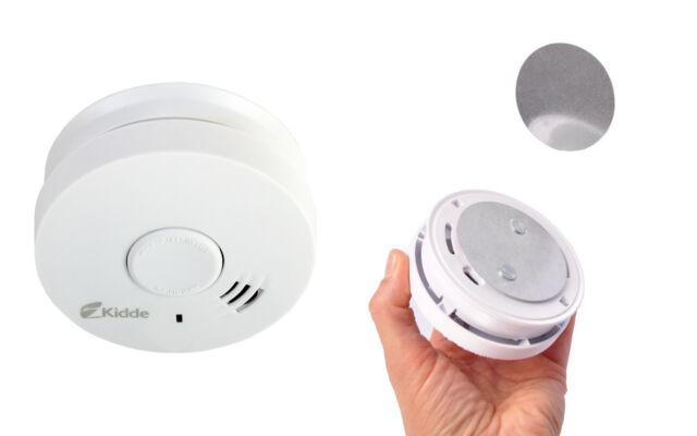 Rauchmelder 10 Jahre + Magnethalterung Feuermelder Warnmelder Rauchwarnmelder