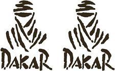 2 x XL Dakar - Decals - Vinyl - Sticker - Motorbike - Car - Van - Body Panel