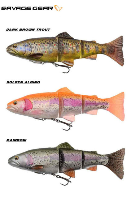 Savage Gear 4D Rattle Trout Fishing Lure 12.5-20.5cm 35-120g Various Colours