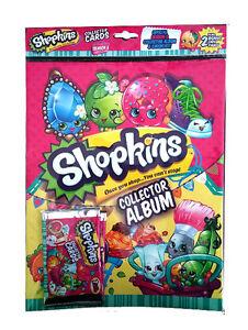 Shopkins-Starter-Pack-2xBooster-Packs-7-Cards-Collectors-Album-Poster-KRYPTX