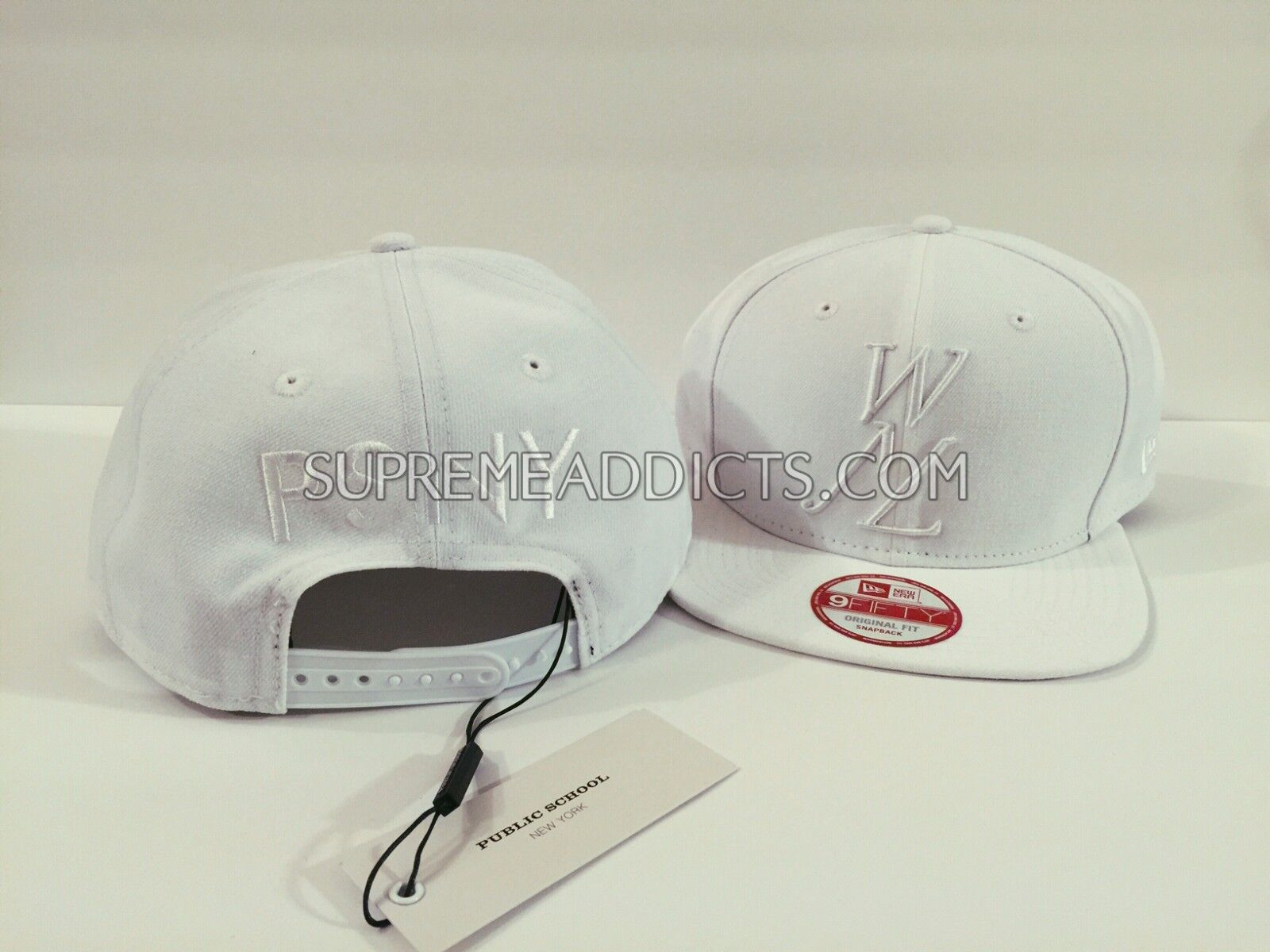 fa3f750fa spain wnl snapback new era hat 209c3 5da7b; coupon code psny public school  new york leaders white wnl we need leaders york cap hat