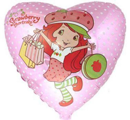 STRAWBERRY SHORTCAKE Shopping Spree FOIL MYLAR BALLOON ~ Birthday Party Supplies