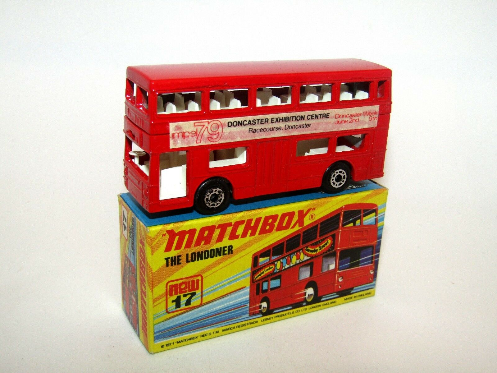Matchbox Superfast No 17 The Londoner Impel 79 Very RARE MIB