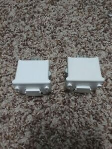 2 Official Genuine Nintendo Wii Motion Plus Adapter OEM MotionPlus Sports Resort