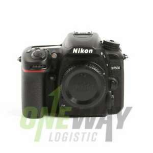 NEW-Nikon-D7500-Digital-SLR-Camera-Body-Only-Kit-Box