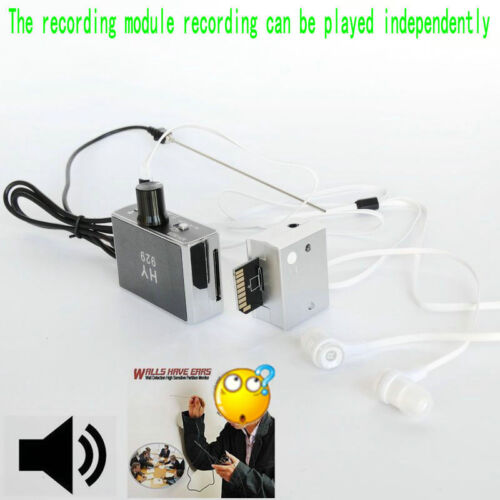 recorder HY-929 new High strength Wall microphone voice bug device DIY PICK-UP