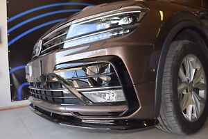Image Is Loading Front Splitter Under Per For Volkswagen Tiguan Mk2
