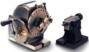 BS-0-Teilapparat-Universal-Teilkopf-mit-Indexeinrichtung-Reitstock