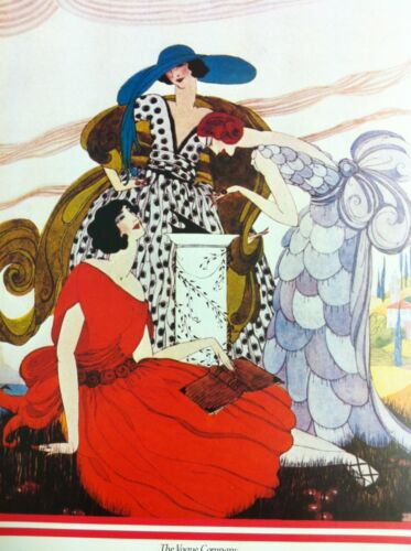 1921 Authorised 1970/'s Reprint 39x28cm19 Vintage Vogue Magazine Poster March 15