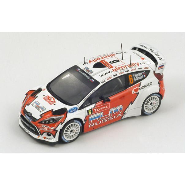 1 43 Ford Fiesta RS WRC almrally Russia  Monte Carlo Rally 2012  E.Novikov