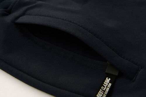 Elastic Waist Zip Pockets Men/'s Cotton Shorts Sports Gym Workout Joggers Shorts