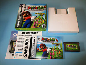 Mario-Golf-Advance-Tour-Nintendo-Game-Boy-Advance-Gameboy-w-Box-Manual-Inserts