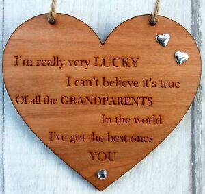 Christmas Birthday Gift Great Grandparents Sign Present Grandma