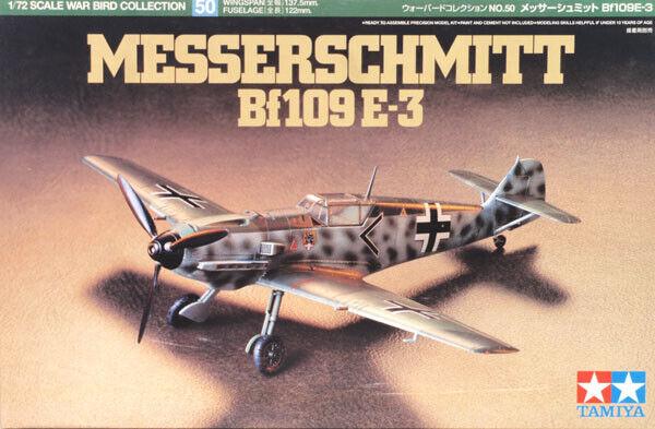 Tamiya 60750 Messerschmitt Bf109 E-3 1/72 scale Kit
