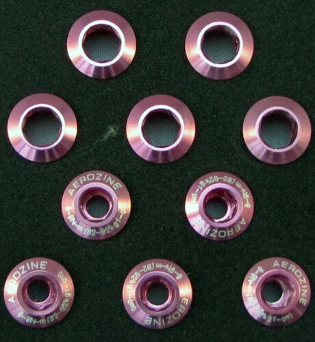 Aerozine Chainring Boulons Crank Set x5 BMX VTT Chainsets route