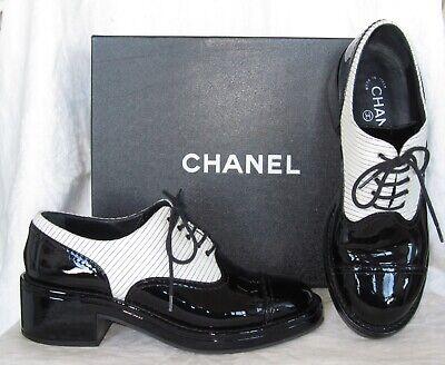 Platform Brogue Oxford Shoes Size 39.5