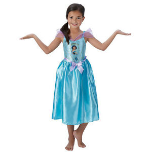Image is loading Childrens-Disney-Princess-Jasmine-Fancy-Dress-Costume-Girls -  sc 1 st  eBay & Childrens Disney Princess Jasmine Fancy Dress Costume Girls Kids ...