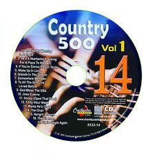 KARAOKE CHARTBUSTER CD+G COUNTRY 500 CB8532 VOL.1 DISC # 14