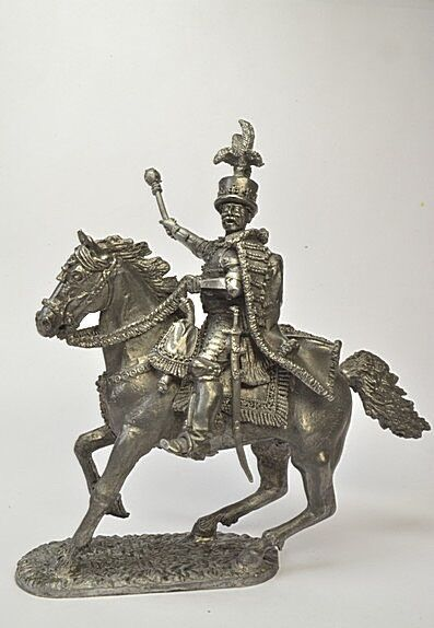 Lead soldier toy,Jan Sobieski,on the horse,collectable,gift,detaile