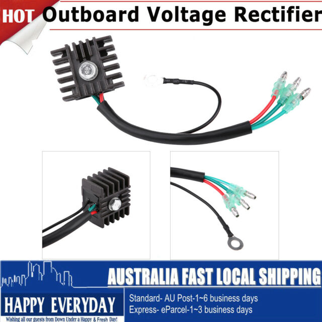 Voltage Regulator Rectifier Replacement 4hp-70hp 2 Stroke for Yamaha on